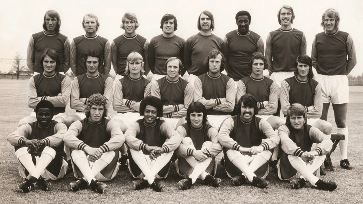 Clyde Best, Clive Charles and Ade Coker all starred for the Hammers in the early 1970s