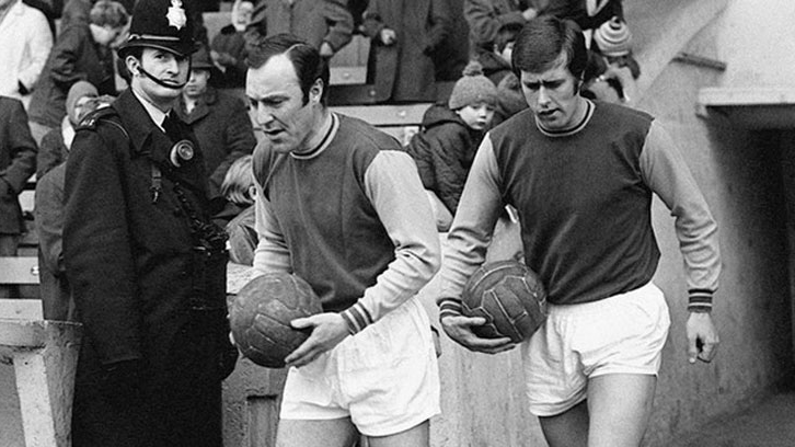 Geoff Hurst and Jimmy Greaves