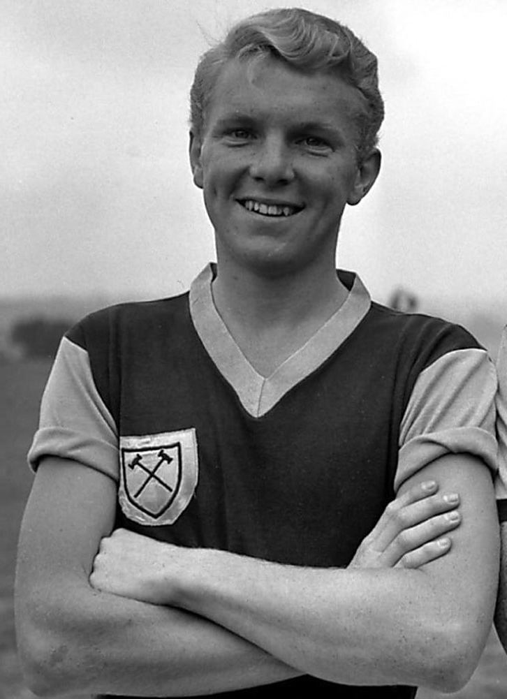 Bobby Moore in 1958