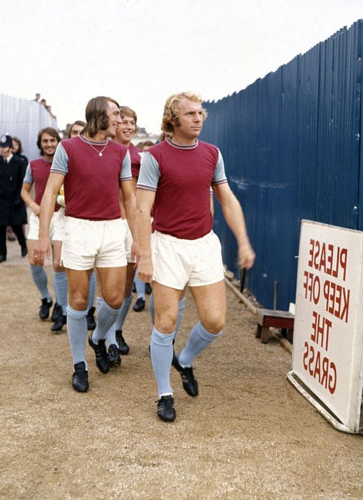 Bobby Moore and Billy Bonds