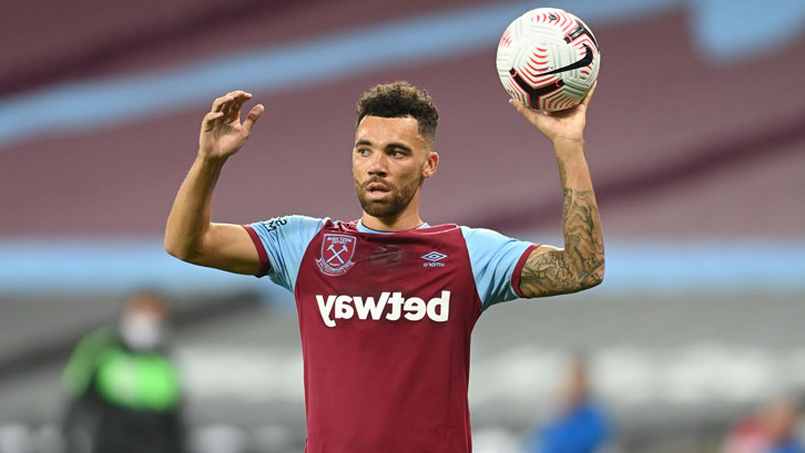 Ryan Fredericks in action against Newcastle