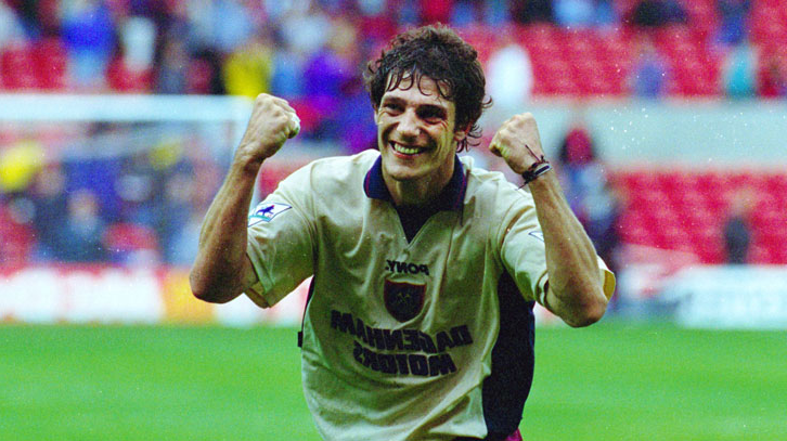 Slaven Bilic celebrates at Nottingham Forest