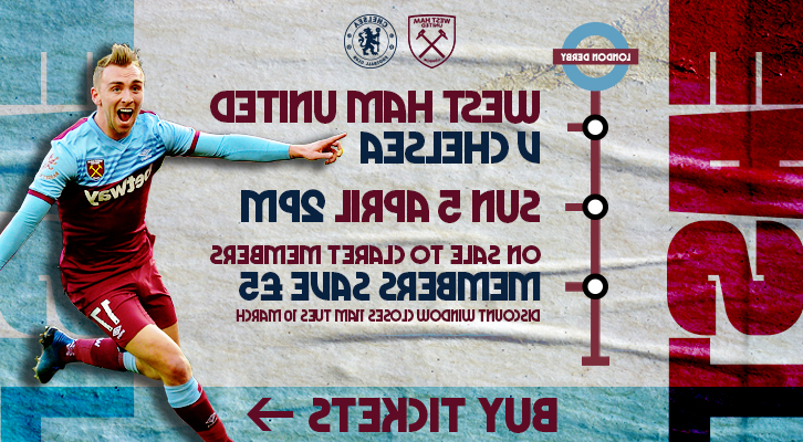 Buy West Ham v Chelsea tickets