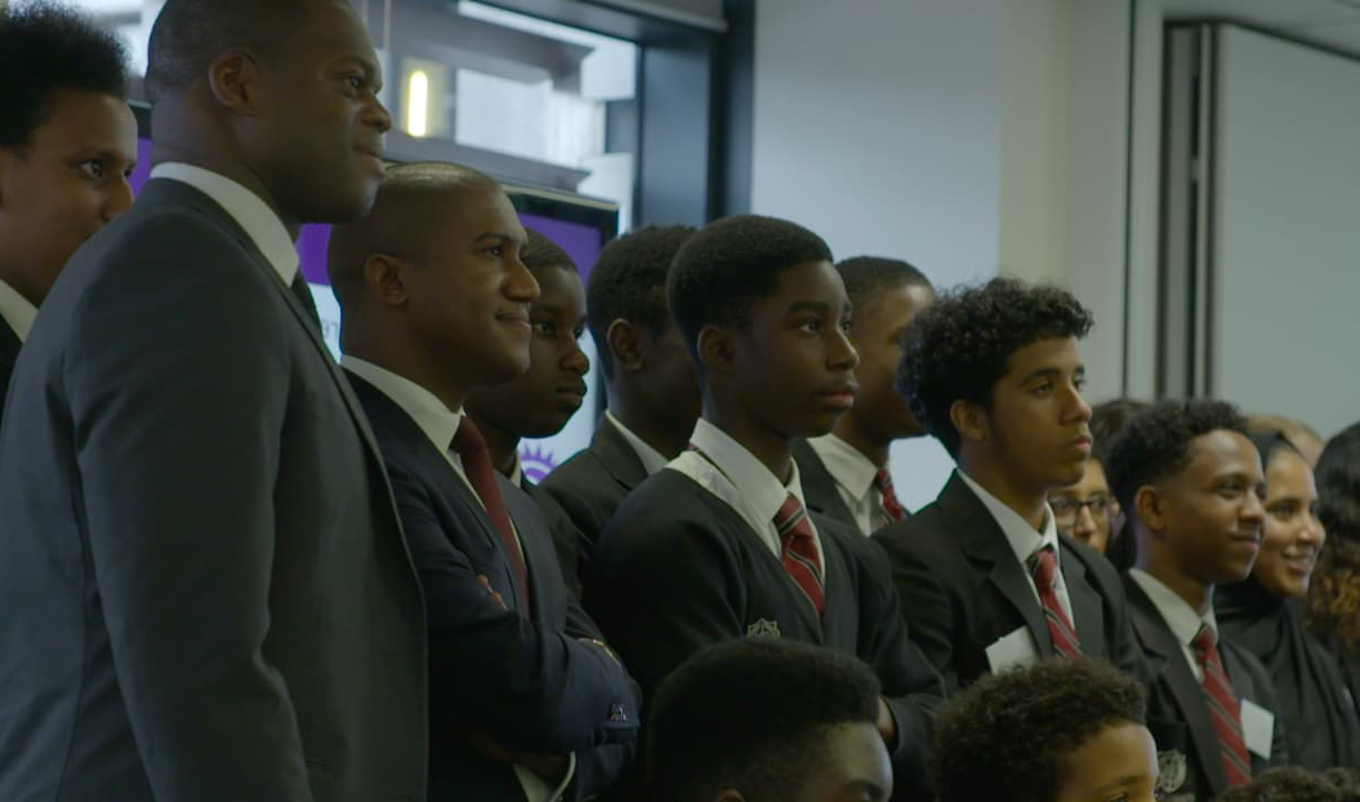 Marlon Harewood at the PL Inspires launch