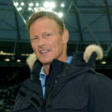 Teddy Sheringham at 伦敦赛场