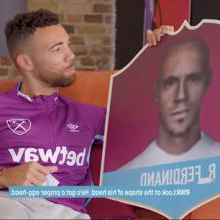Rice and Fredericks play 'Who's that Hammer?'