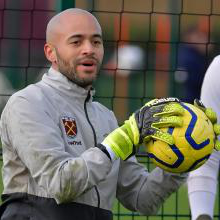 Darren Randolph trains with 新万博体育