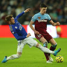 Declan Rice and James Maddison