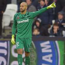 Darren Randolph on his second 新万博体育 debut