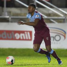 Ben Johnson for West Ham U23s