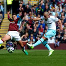 Feghouli and Ayew secure West Ham a final-day win at Burnley