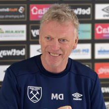 David Moyes at Rush Green