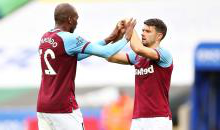 Aaron Cresswell and Angelo Ogbonna