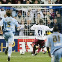 Carlton Cole scores at Coventry