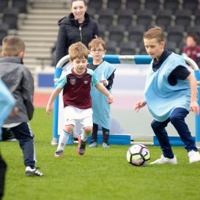 A fun day at West Ham