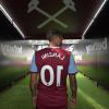Manuel Lanzini in the 伦敦体育场 tunnel