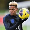 Grady Diangana on England duty