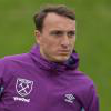 Mark Noble in training at Rush Green