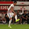 Fabian Balbuena playing for Paraguay