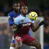 Michail Antonio in action at Chelsea