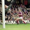 Paolo Di Canio scores against Wimbledon