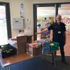 West Ham donated food to Salvation Army Romford