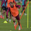 Jack Wilshere in training at Rush Green