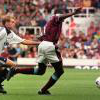 Paulo Wanchope in action against Spurs