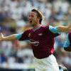David Connolly celebrates scoring against Preston