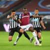 Michail Antonio in action against Newcastle