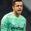 Lukasz Fabianski in action against 曼彻斯特城